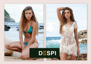 Awesome designs, one of the worldwide stylists, bloggers and stars favorite brand. DESPI's swimwear combines perfectly with street wear. Chic and contemporary, including cover-ups and matching jewellery, bags and shoes. Luxurious, high quality lycra, soft and thin, feels like lingerie fabrics. DESPI is a must have. Naam exposant: Monica Cerny Fashion Agency & Import / DESPI Swimwear Merken: Despi, ROSY Paris Segment: Badmode & bovenkleding, lingerie, onder- en nachtmode/ loungewear (dames en heren) , lifestyle accessoires, diversen, voorraadhoudend Showroom: Fashion Dôme 1.05